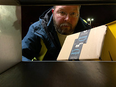 Picking up a parcel (03.01.2018)