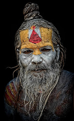 sadhu in Pashupatinath