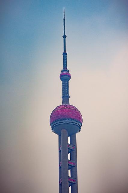 Top of Oriental Pearl Tower