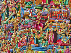 Hindu-Tempel in Little India, Singapur