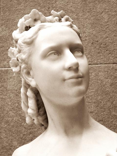 Madame Joachim Lefevre by Jean Baptiste Carpeaux.