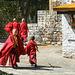 Novice monks at Gom Kora (PiP)