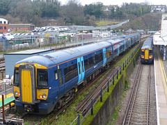 Southeastern Electrostars at Dover Priory - 28 December 2018