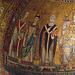 Detail of the Mosaic in the Apse of Santa Maria in Trastevere, June 2012