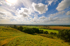 Shropshire from Duke of Sutherland Memorial