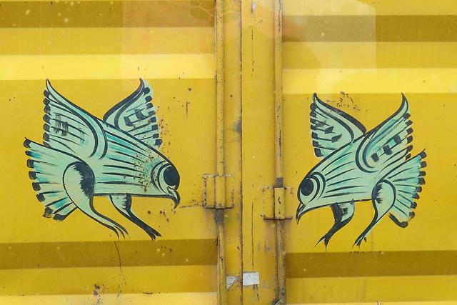 Déco sur camion (Népal)