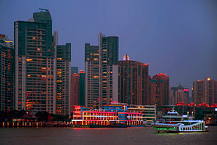 Along the Huangpu river
