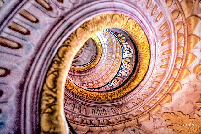 Melk stairs 1988
