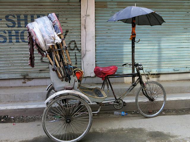Rickshaw (Kathmandu, Népal)