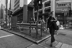 HK street.