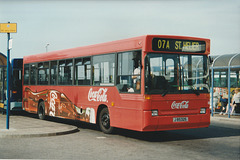 Jersey bus 68  (J 85325) at St. Helier - 4 Sep 1999