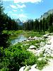 Pooling on Cascade Creek - Grand Teton National Park