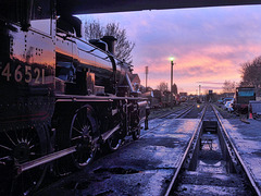 Great Central Railway Loughborough Leicestershire 11th December 2016