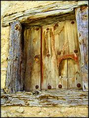 Pedraza, Segovia province. Old window