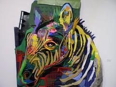 Zebra, by Bordalo II.
