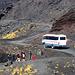 Mit dem Bus durch die Vulkanlandschaft