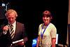 America's Cup Portsmouth 2015 Sunday Awards Ceremony Davina McCall 1