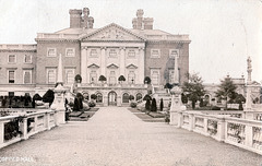 Copped Hall Essex, c1910, burnt 1917 and now a ruin