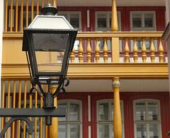 """Innenhof """"Hinter dem Lämmchen"""" in der Neuen Altstadt.."""