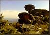 Hanging rock. Sierra de La Cabrera.