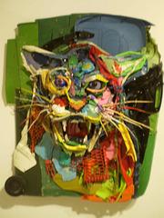 Panther, by Bordalo II.