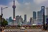 Downtown in Shanghai