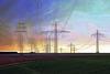 Stromtrassen - Power lines