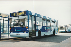 Jersey bus 67 (J 64745) at St. Helier - 4 Sep 1999