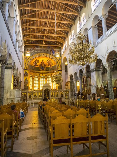 Thessaloniki, The church of Saint Demetrius, patron saint of the city