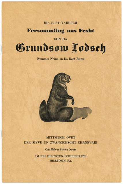Groundhog Lodge No. 9 Fersommling, Program Booklet Cover, 1965