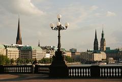 HFF von der Lombardsbrücke