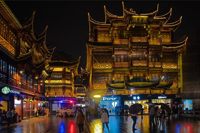 Ipernity At Night In Yuyuan Garden By Wolfgang