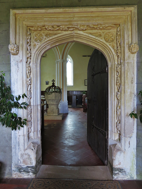 bigbury church, devon