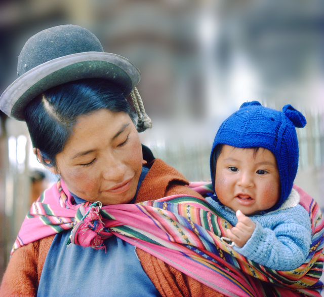Mother and Baby from Puno