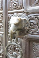 Porte à Durbar Square, Patan, Kathmandu (Népal)