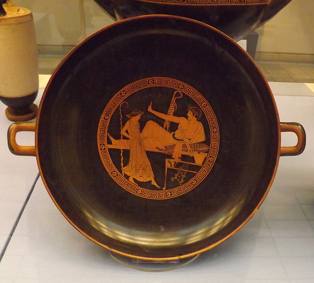 Red-Figure Kylix Attributed to the Brygos Painter in the British Museum, May 2014