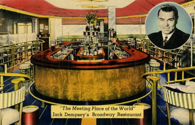 Jack Dempsey's Broadway Restaurant, New York, N.Y.