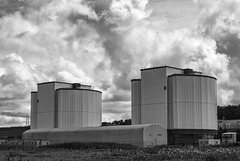 Hunterston A Nuclear Power Station, Hunterston, Ayrshire, Scotland, 30 July 2016