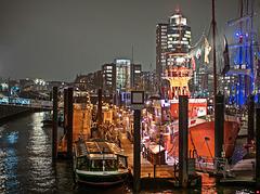 Hamburgs Hafen leuchtet (2xPiP)