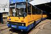 Leipzig 2017 – Ikarus Z80 bus at the Straßenbahnmuseum