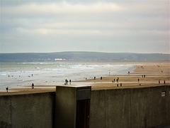 You can see the hardy(aka daft) souls in the sea