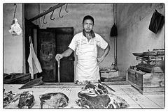 Sur un marché de Tananarive