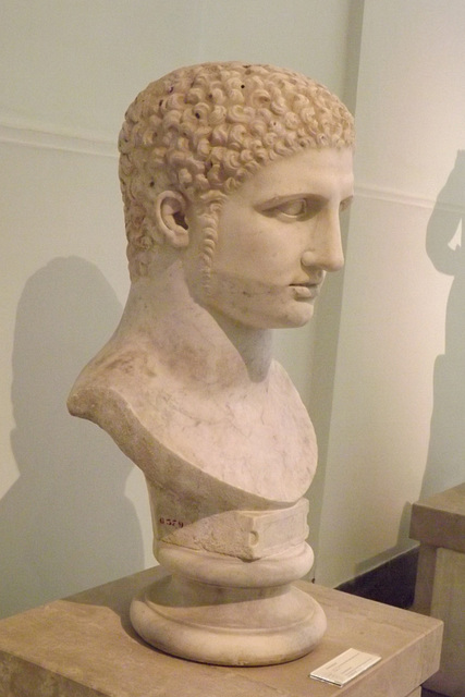 Young Hercules Bust in the Naples Archaeological Museum, July 2012