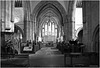 Inside Brecon Cathedral