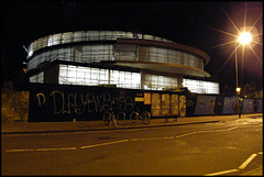 Blavatnik carbuncle by night