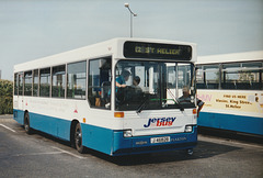 Jersey bus 51 (J 46828) at St. Helier - 4 Sep 1999