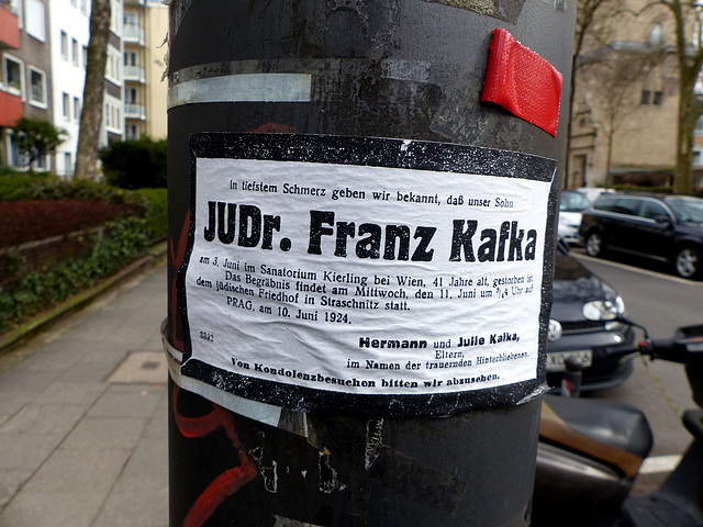 Cologne - Franz Kafka