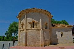 Abside de la Iglesia de San Juan, en Arroyo de la Encomienda.