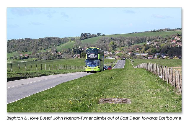 B&H Buses John Nathan-Turner - East Dean - Sussex - 30.4.2015