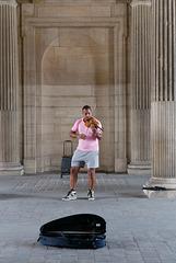 Le violoniste du Louvre